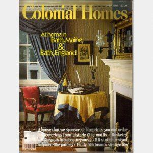 homes magazine colonial homes april 1989 magazine at home in bath maine