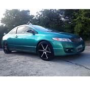 Blue Green Flip Carribean Gold Honda Civic Paint With Pearl