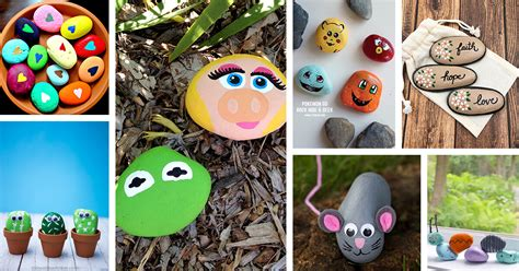 painted rock ideas  designs