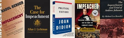 the for impeachment books a guide to the genius of impeachment in 10 books
