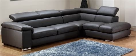 leather sofa sectionals italian leather modern sectional sofa