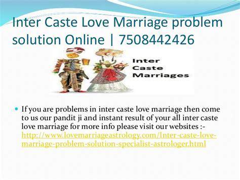 Inter caste love marriage solution centre