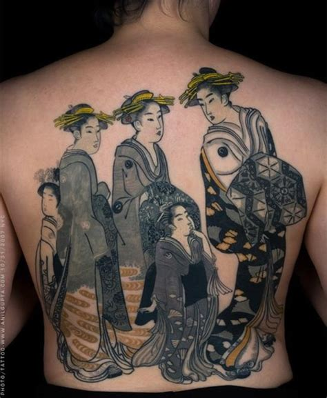 group tattoo designs 100 japanese geisha tattoos and meanings april 2018