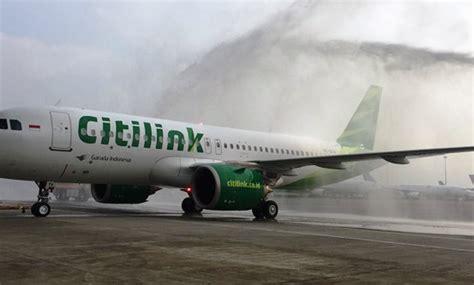 citilink airbus x livery citilink terima airbus a320neo pertama berita trans