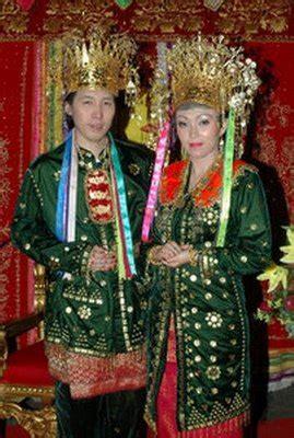 Dress Biru Hitam Original Secondhand pakaian adat tradisional bengkulu busana tradisional