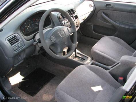 gray interior 1998 honda civic lx sedan photo 55253401