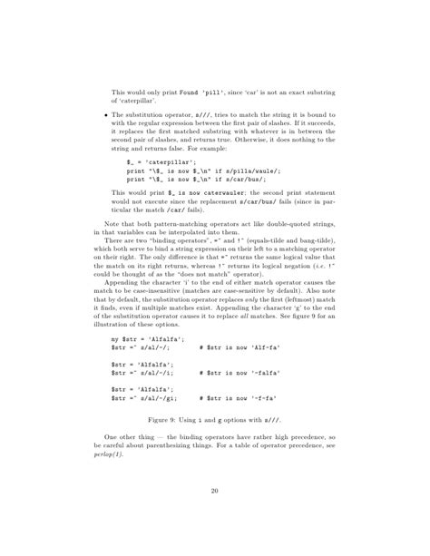 perl pattern matching a z perl crash course