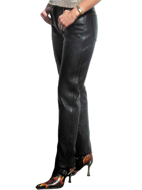 JTS 1716 Ladies Leather Trousers   FREE UK DELIVERY   JTS