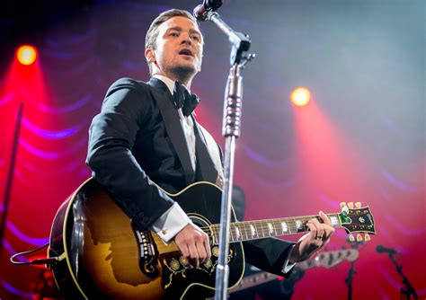 Look For Justin Timberlakes Box Live by Jt Live Performance 2013 Justin Timberlake Photo