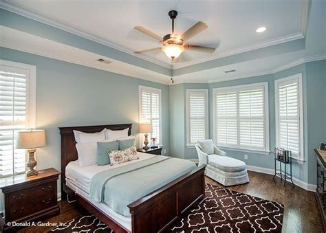 Ceiling Fan Tray Ceiling Master Suite With Bay Window And Tray Ceiling The