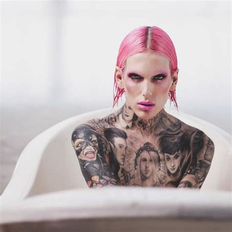 jeffree star tattoos all hail the why we tattooed makeup guru