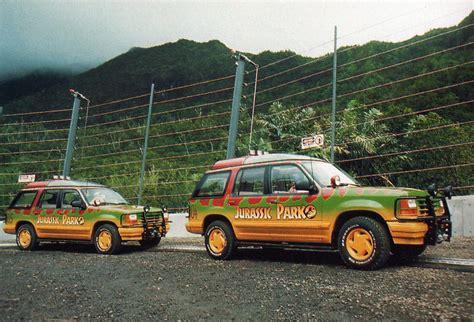 jurassic park tour jurassic park 05 ford explorer tour vehicle jp 05