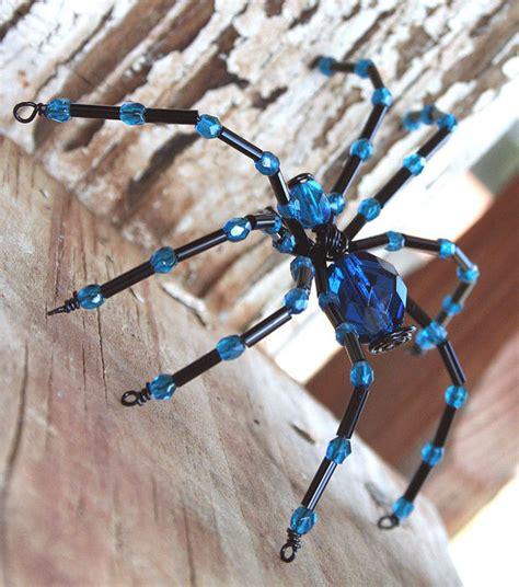 craft ideas beaded spiders make handmade