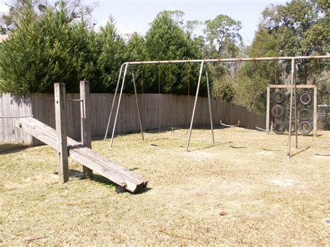 park avenue swing see saw and swing set
