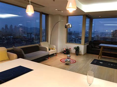 living room south central seoul apartment for rent fraser place seoul korea hotel part 12 staradeal