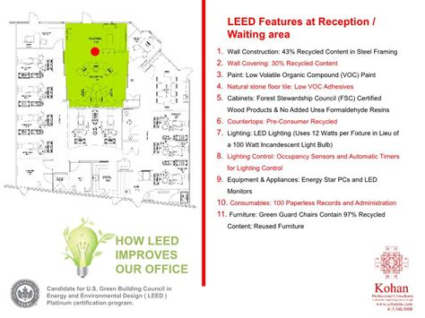 what is a leed certification dental office design dental office architect