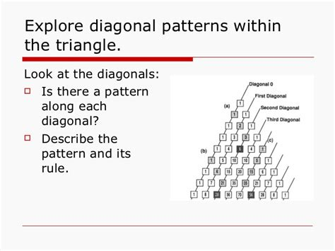 pattern rule that relates the input to the output pattern rule calculator pascal s triangle maths investigation