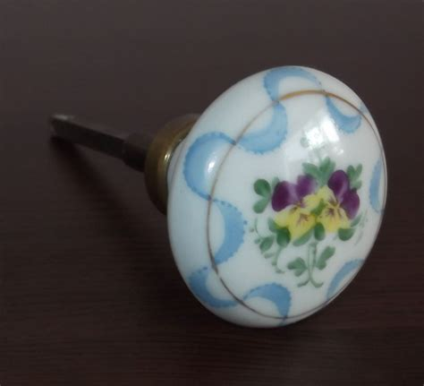 Antique Porcelain Door Knobs by Antique Vintage Italian Porcelain Door Knob Door Handle
