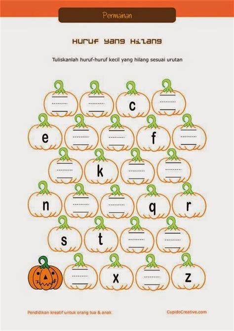 Printable Untuk Anak 2 Tahun   bermain sambil belajar paud balita tk menulis huruf a z