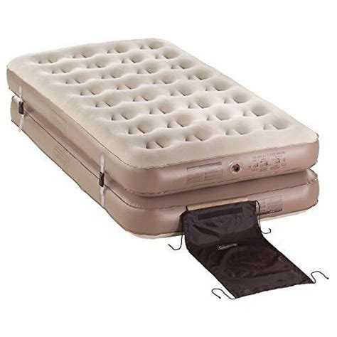 twin beds inflatable mattress air bed pump camping sleeper