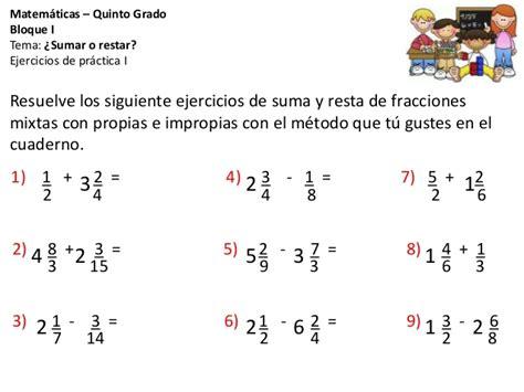 matematicas 5to grado bloques 3 4 y 5 by sbasica issuu 4 191 sumar o restar ejercicios de repaso