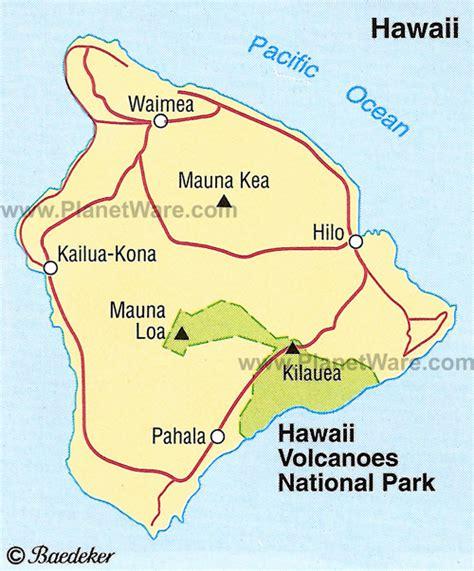 volcanoes in hawaii map hawaii volcanoes national park maps legends