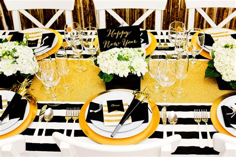 Party Decorations At Home by Gold And Black New Year S Eve Party Evite