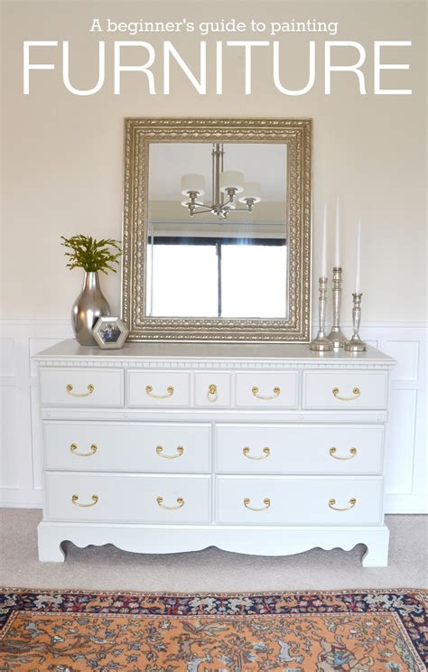 best white paint for furniture livelovediy how to paint furniture why it s easier than