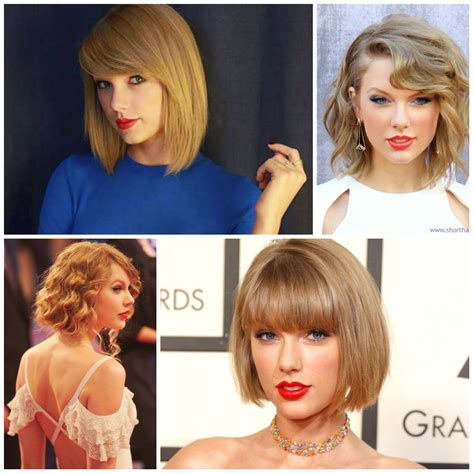 taylor swift s bob hairstyles to try in 2016 haircuts