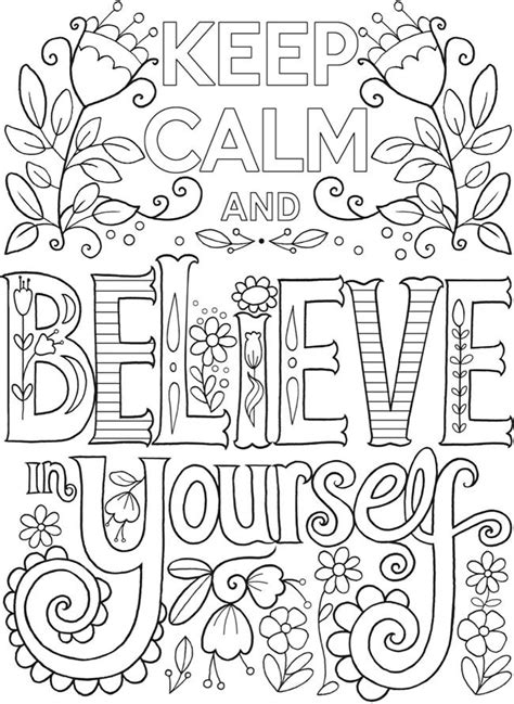 calming coloring pages creative keep calm and coloring book dover