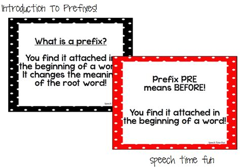 pre meaning introduction to prefixes