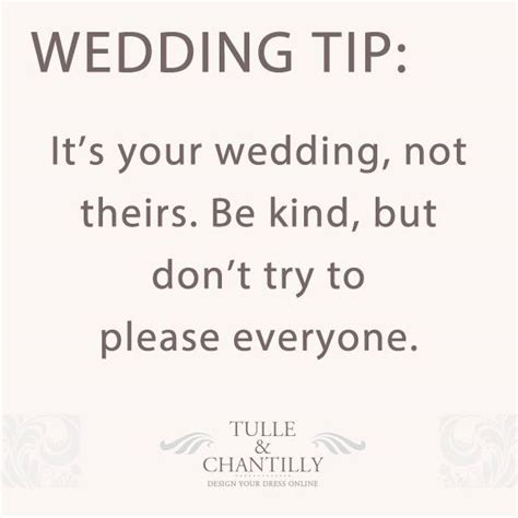 15 Brilliant Wedding Tips For Your Wedding Planning