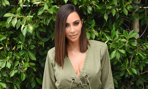 kim kardashian s lob was actually a wig