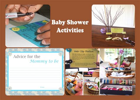 Baby Shower And Activities by Baby Shower Activities