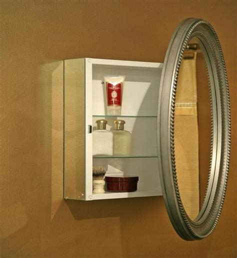 Round Medicine Cabinet #6   Back To: How To Install