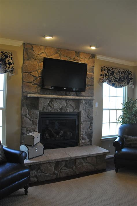 Hang Tv Above Fireplace by Building A Homes Ravenna Tv The Fireplace Or Not