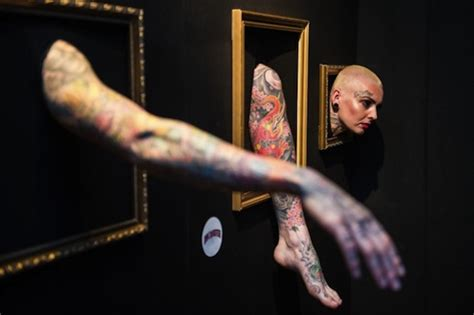 tattoo london exhibition the london tattoo museum with a difference real life models