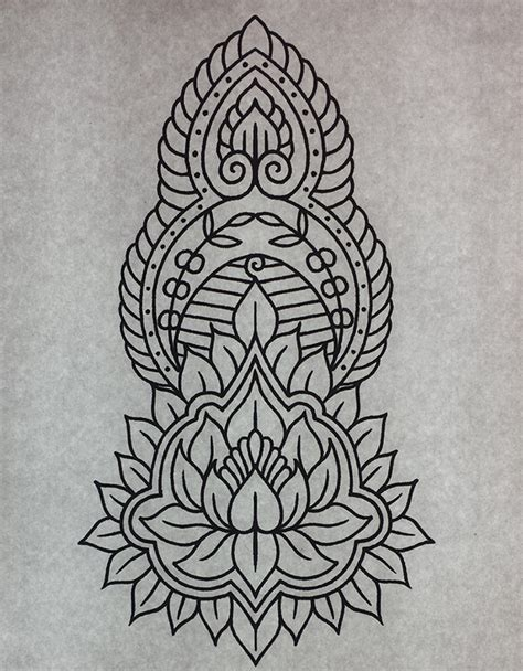 mehndi ornament tattoo design by genotas on deviantart