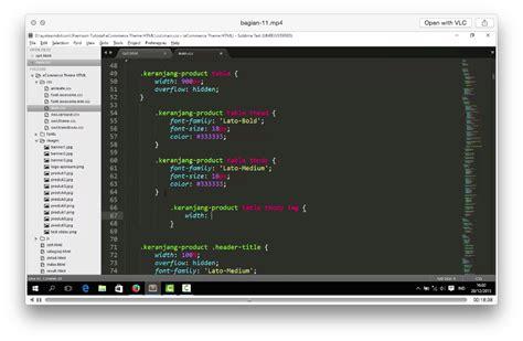 tutorial desain header website desain themes toko online dengan html dan css malas ngoding