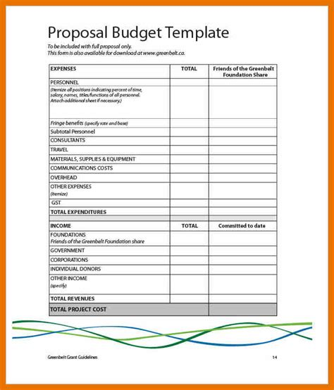 research budget template 13 research budget exle bibliography apa