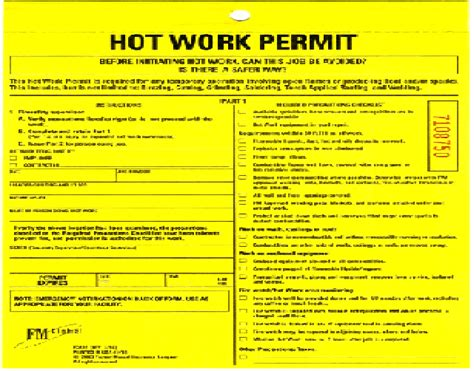 permit to work template osha work permit template images