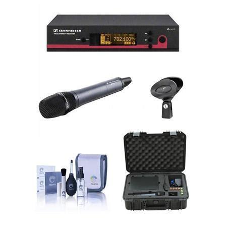 Mikropon Mic Sennheiser Ew 135 G3 Single Profesional Artis 3vvnc sennheiser ew 135 g3 wireless microphone 516 558mhz w skb
