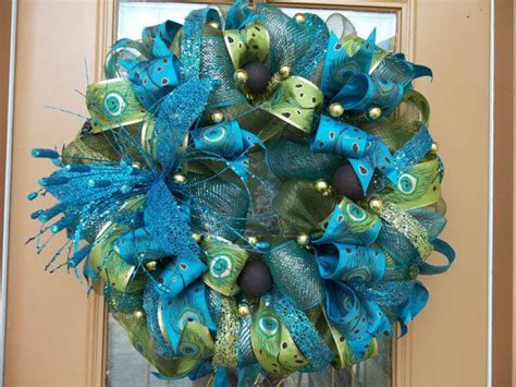 awesome peacock feather wreath decorating ideas gallery in 24 best peacock decor images on pinterest peacock decor
