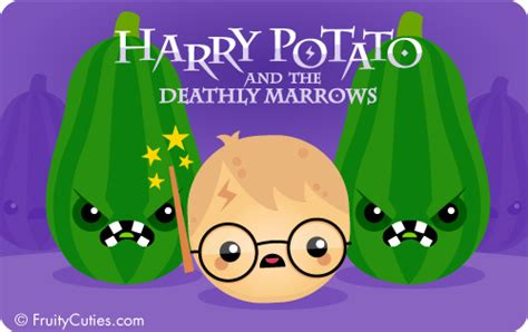 harry potato and the deathly marrows jokes with