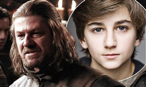 game of thrones actor killed by lion game of thrones ned stark returns as a young boy played