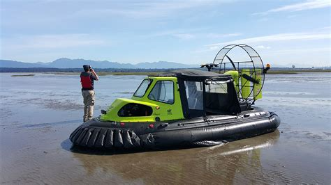 Mobile House by Air Rider Hovercraft