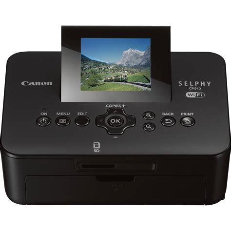 Printer Canon Selphy Cp910 canon selphy cp910 wireless compact photo printer 8426b001aa b h