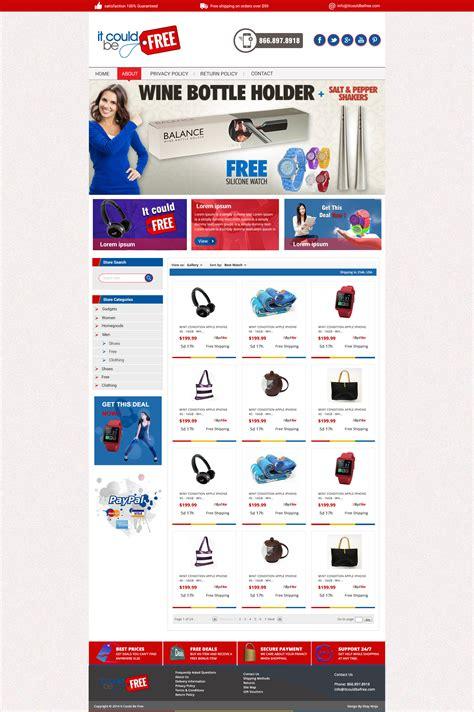 ebay listing template design custom ebay store listing template channeladvisor