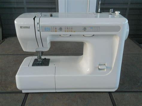 Sears Kenmore Model 385 Free Arm Portable Sewing Machine W