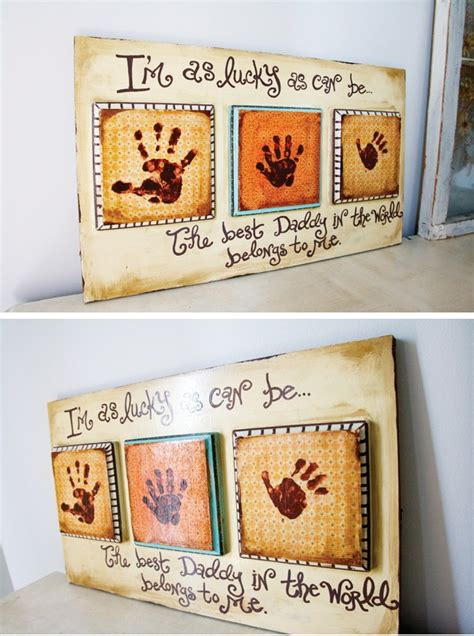 Handmade Fathers Day Gift Ideas - s day gift ideas